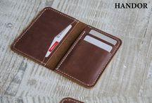Leather wallet men