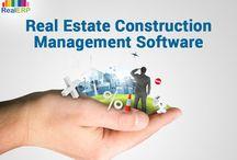 Real estate construction management software