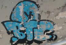 murales, scritte e scarabocchi