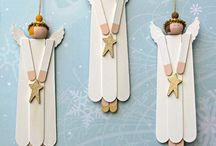 Ornamenti con bastincini gelato