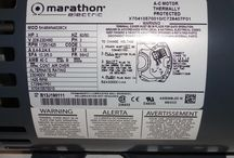 Marathon Electric / Pictures of current, discontinued and obsolete motors produced by Marathon Electric
