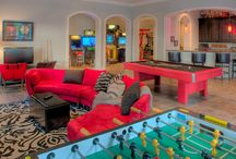 Game Rooms | Billiard Tables / A collection of Extravagant Game Room in Michigan