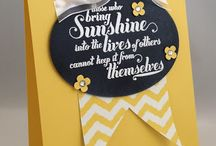 Stampin up Feel Goods / Examples of projects using the stampset fell Goods from Stampin up