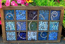 Mosaics and outdoor decor