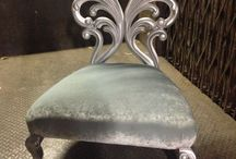 Colour Trend - Silver Furniture / Silver Furniture Ideas. Create your own furniture at www.hiddenmill.com
