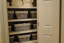 Storage ideas / Linen