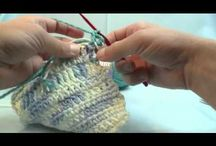 Knitting crochet and quilting