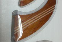 Wood fins