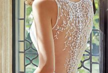 Sophia Tolli / Sophia Tolli wedding gowns are offered here at Bella Bridal Gallery in West Bloomfield, Michigan. More information at www.bellabridal.com or at 248-539-9800.