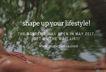 Shape Up Your Lifestyle Academy / Academy for courageous ageless women for retreats, workshops, online courses  for health, fitness, personal development, self care, nutrition, spirituality, merging business and down time for busy female entrepreneurs.