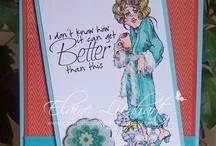 Cards - Rick St Dennis stamps