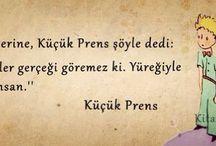 Küçük prens sözler