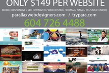 GREAT NEW PRICES / PARALLAX WEB DESIGNERS VANCOUVER