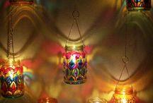 decoracion  con vela