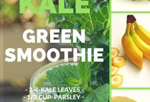 Green Juice Recipes for Beginners / Green juice recipes to quickly detox your body and get in the best shape of your life.