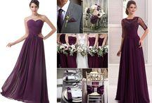 Šaty pre družičky a popolnočné šaty