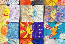 Детки рисуют / Хочу солнца
