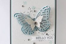 Stampin up butterflys