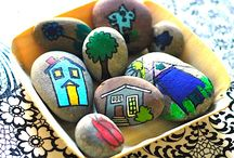 Knutselen * Stenen * Painting Stones