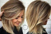 medium long hair