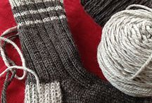 Sock it to me! / Knitting up socks of all kinds and finding patterns to do just that.