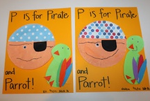 Pirates / pirate theme activities for preschool, kindergarten, and early childhood special ed