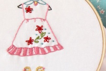 old fashioned embroidery!  / by Diane Williams