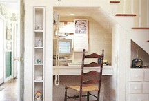 Reading Nooks, window seats and office spaces / by Mandy