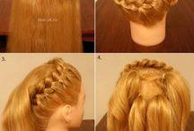 Cheveux de danse