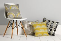 Cushions & Throws / To brighten up any room add cushions, linen, throws or rugs that have a splash of colour.