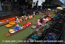 Thailand - Damnernsaduak Floating Market / by Kunzum #wetravel