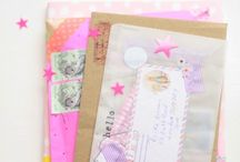 All tied up with string / snail mail, parcels, paper , pens, cards a few of my favourite things