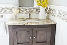 Bathroom Decor and Inspiration / Inspirational Decor for your Bathroom.  Are you just doing a simple update or a full on remodel?