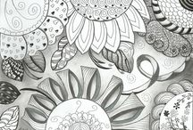 My Zentangles,Doodles,Tangles / by Jo Angel