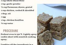 Recipes for Dog Treats