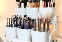 Organization. Makeup and Home.