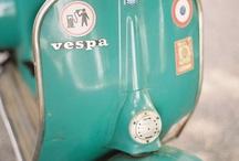 VESPA.... LOVE / VESPA PRIMAVERA.... ha formado parte de mi adolescencia y actualmente todavía sigue siendo el punto de referencia en mi garaje, en fin ME GUSTAN. / by Remei Salvadó