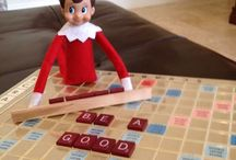 The Elf On The Shelf / Here is a collection of ideas of what to do with your cheeky elf to entertain your children this Christmas
