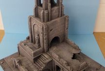 Wargaming Buildings / Buildings and Scenery for wargaming