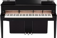 Yamaha Hybrid Pianos / Yamaha Hybrid Pianos offer you the rich, resonant tone, textured harmonics, and superb touch and response of an acoustic piano, combined with state-of-the-art technology that only Yamaha can provide. With a compact, elegant design, these instruments deliver authentic piano performance in any setting. Experience a piano like no other – experience a Yamaha Hybrid Piano. / by Gist Piano Center