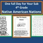 """Substitute Teacher Plans Grades K-6 / Finally!  Here are """"fillers"""" as well as full-day plans for your Sub Teacher Plans."""