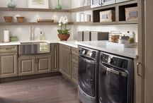 Laundry Rooms / Elegant and functional laundry room design