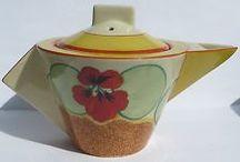 Clarice Cliff & Susie Cooper - Pottery / Decorative pottery