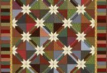 Hunter stars quilt