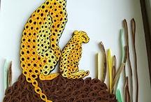 Quilled cheetah