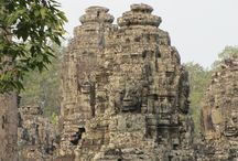 Cambodia / Cambodia is a beautifully unique country in Southeast Asia.  It is home of Angkor Wat a world renowned UNESCO site.  The people are very kind and it is a great #bucketlist destination.