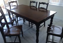 superb 7 pcs dinning set in wood / (625$)i have a really nice 7 pcs dinning set in wood in really good condition,the mesurements are 36 1/2 inches wide x 31 1/2 inches high x 72 inches long and the chairs are 18 inches depth x 17 inches wide x 18/39 inches high,i am in woodbridge area,ask me what else i have for sale,we have so much more,thank you