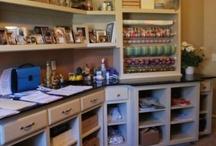 Craft Organization / Organization ideas for my dream craft studio.
