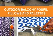 OUTDOOR PILLOW AND CUSHIONS