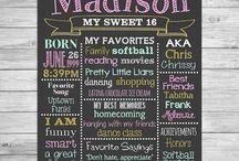 Maddie's sweet 16th